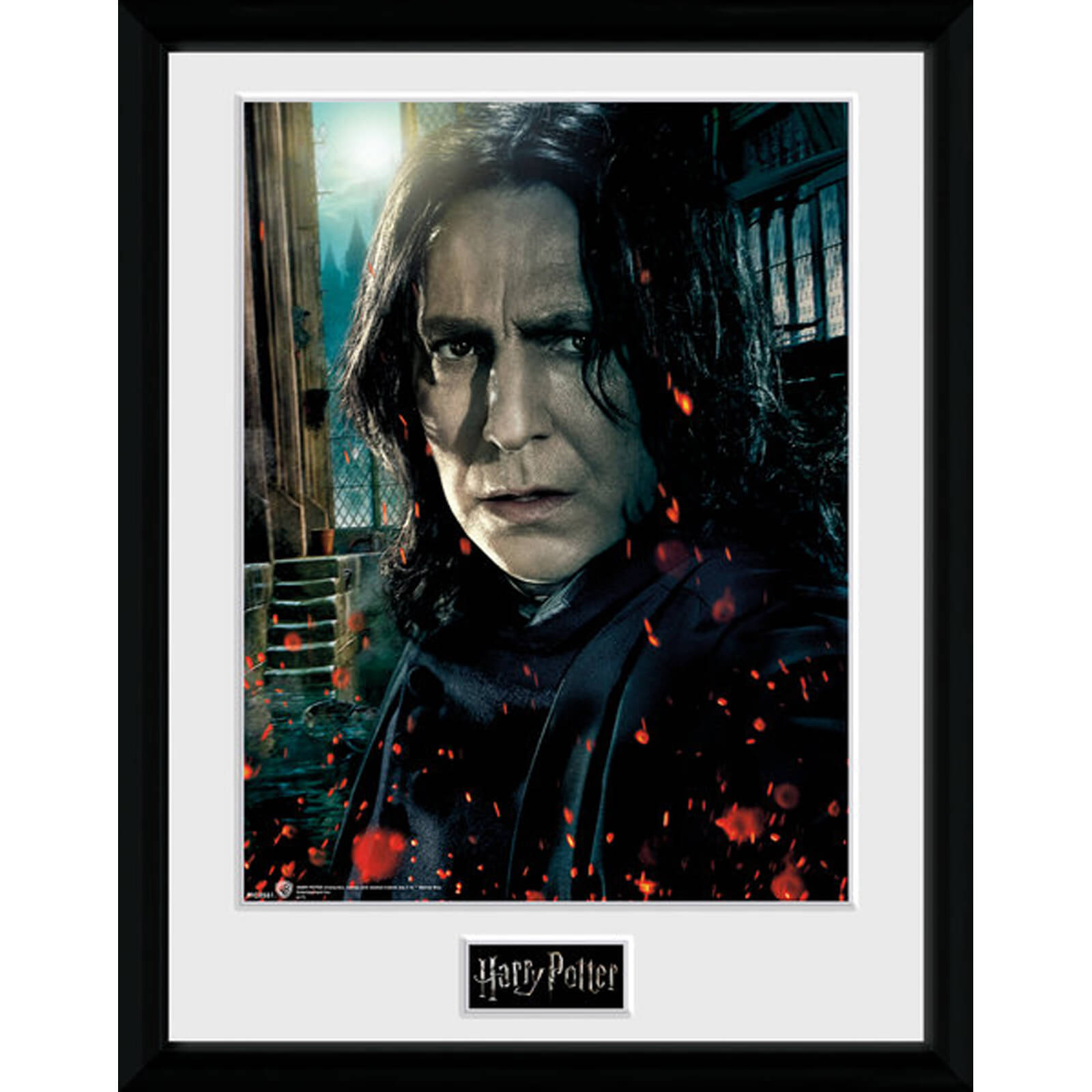 Harry Potter Snape 12 x 16 Inches Framed Photograph