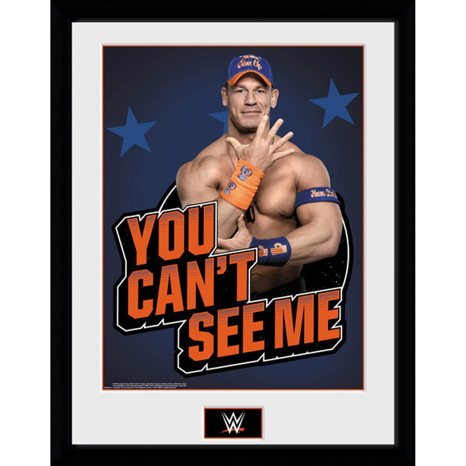 WWE Cena YCSM 12 x 16 Inches Framed Photograph