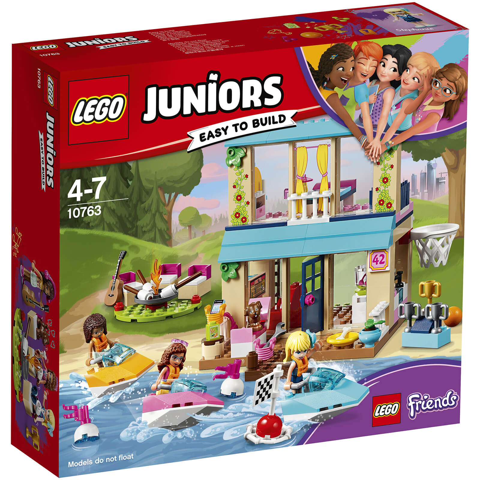 LEGO Juniors Friends: Stephanie