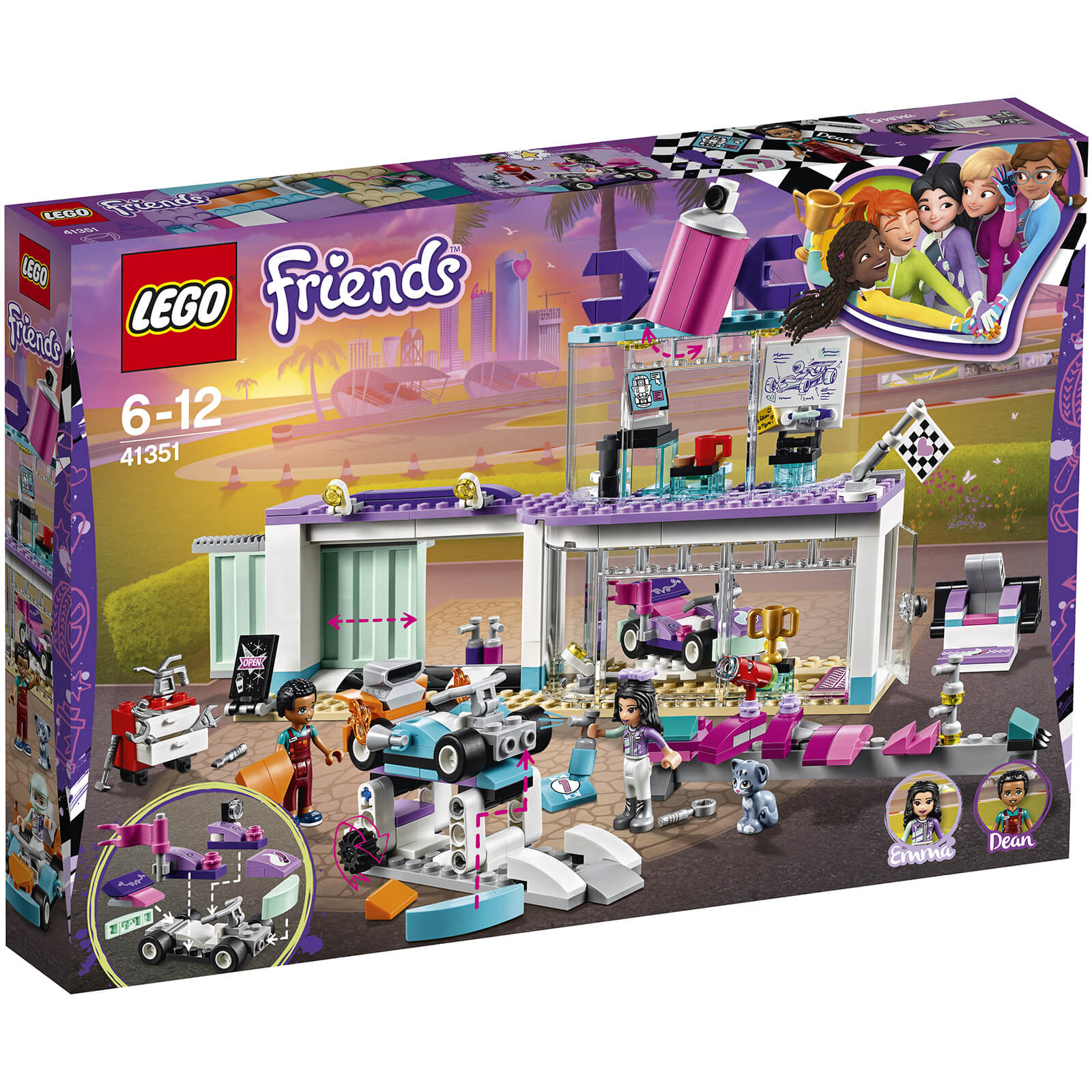 LEGO Friends: Creative Tuning Shop (41351)