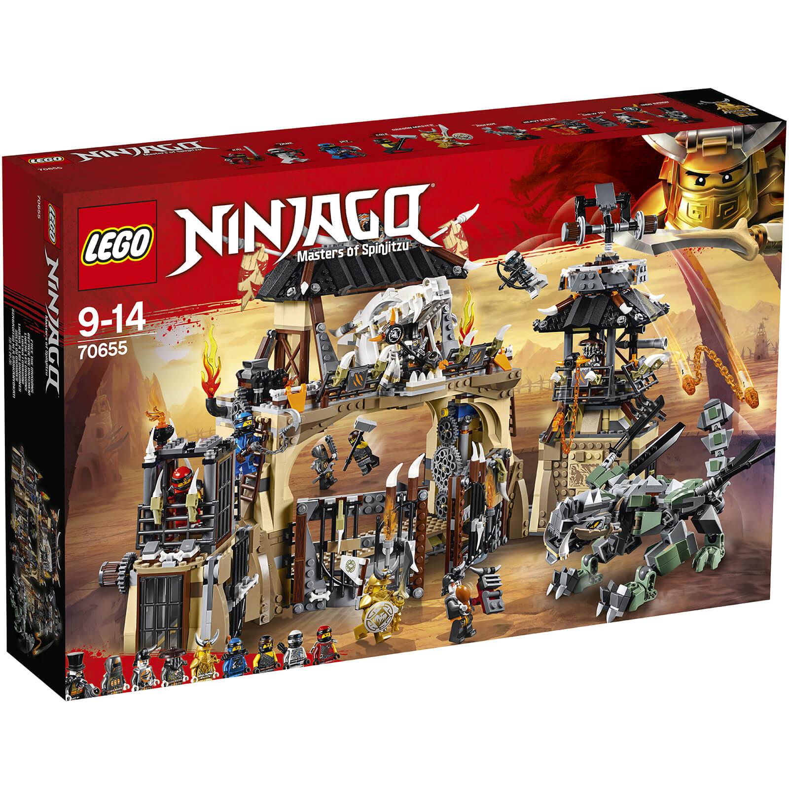 Lego ninjago dragon pit 70655 iwoot - Photo lego ninjago ...