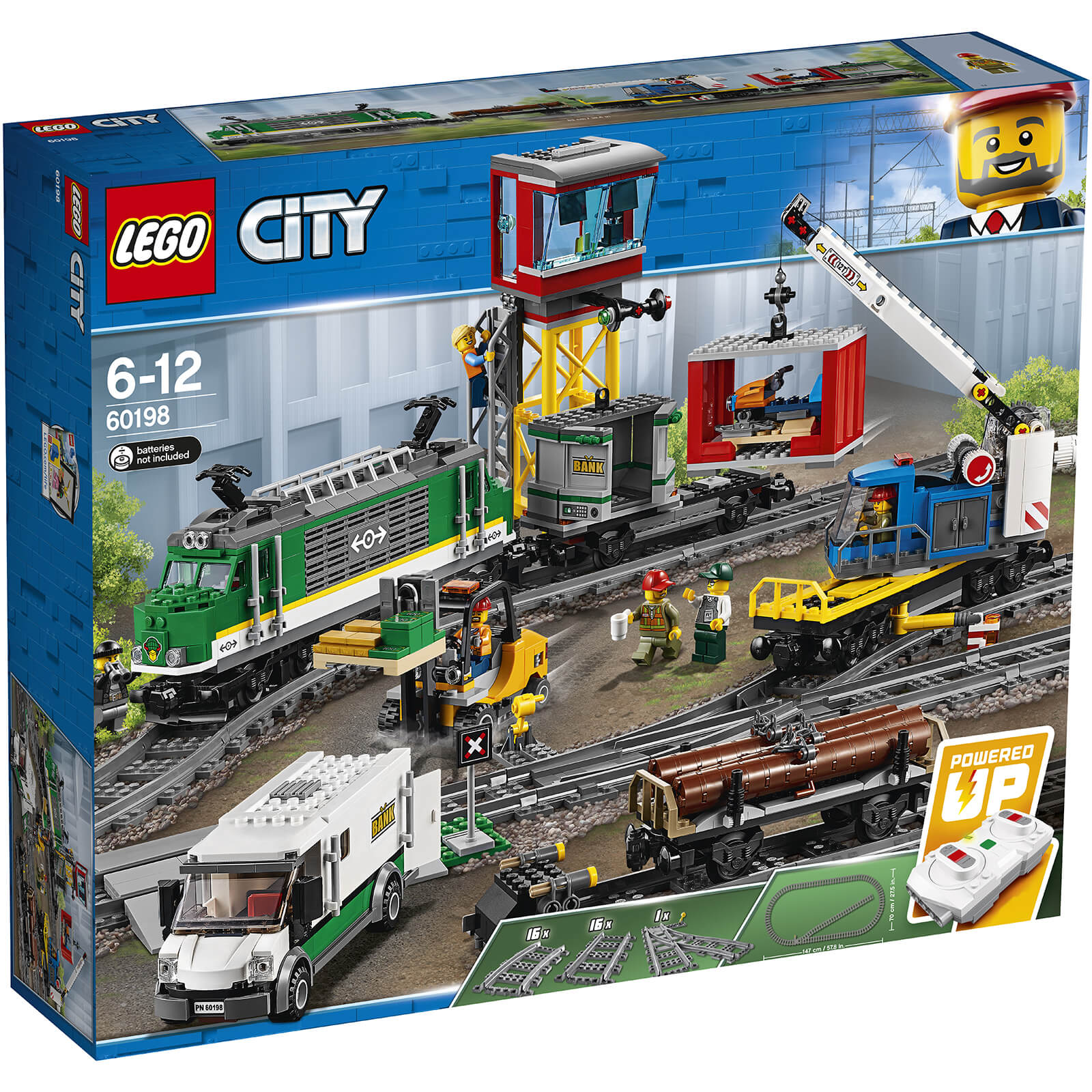 Lego City Trains Cargo Train 60198 Iwoot