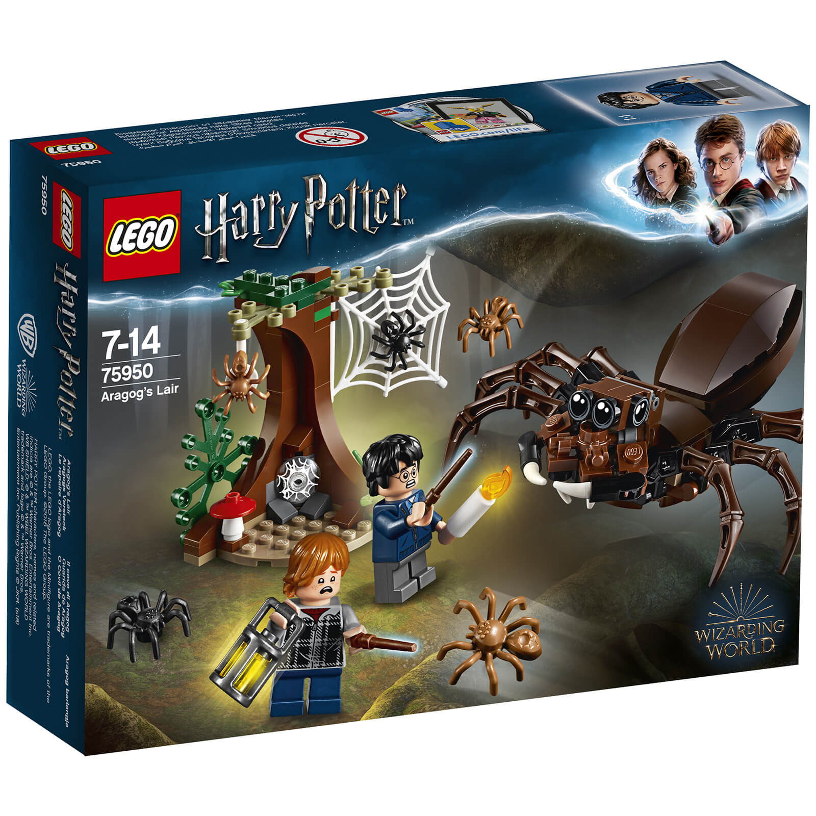 Lego Harry Potter Aragogs Lair 75950 Sowia