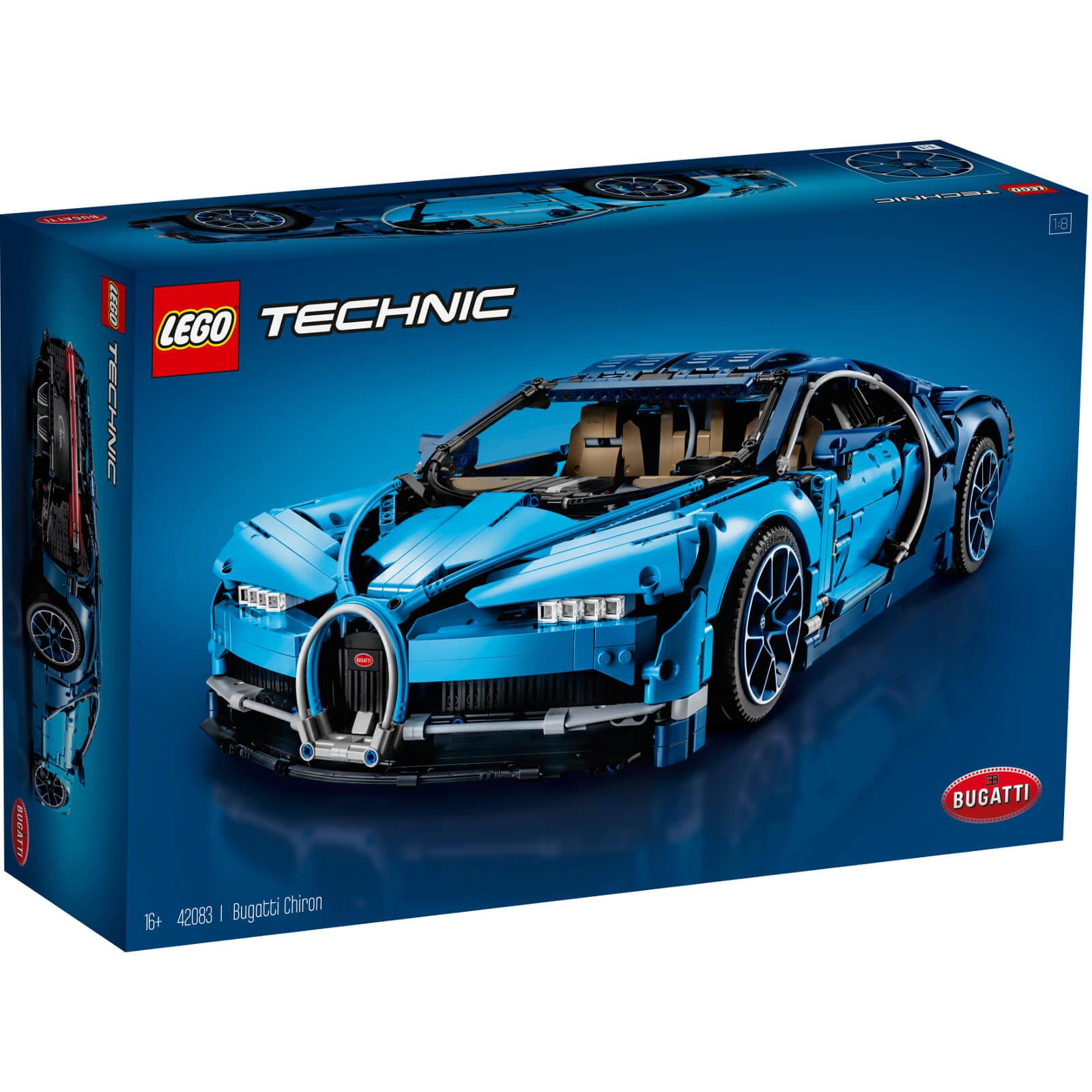 Lego Technic Bugatti Chiron 42083 Race Car Building Kit (3599-Pieces)
