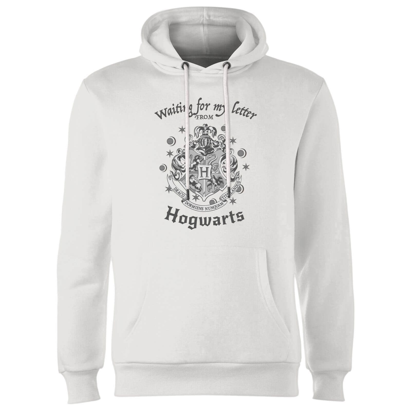 Harry Potter Waiting For My Letter From Hogwarts Hoodie - White