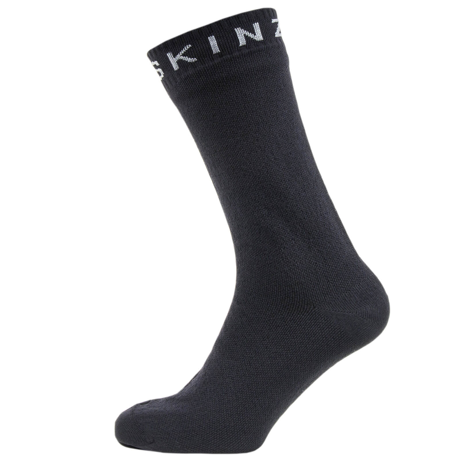 Sealskinz Super Thin Mid Socks - Black/Grey