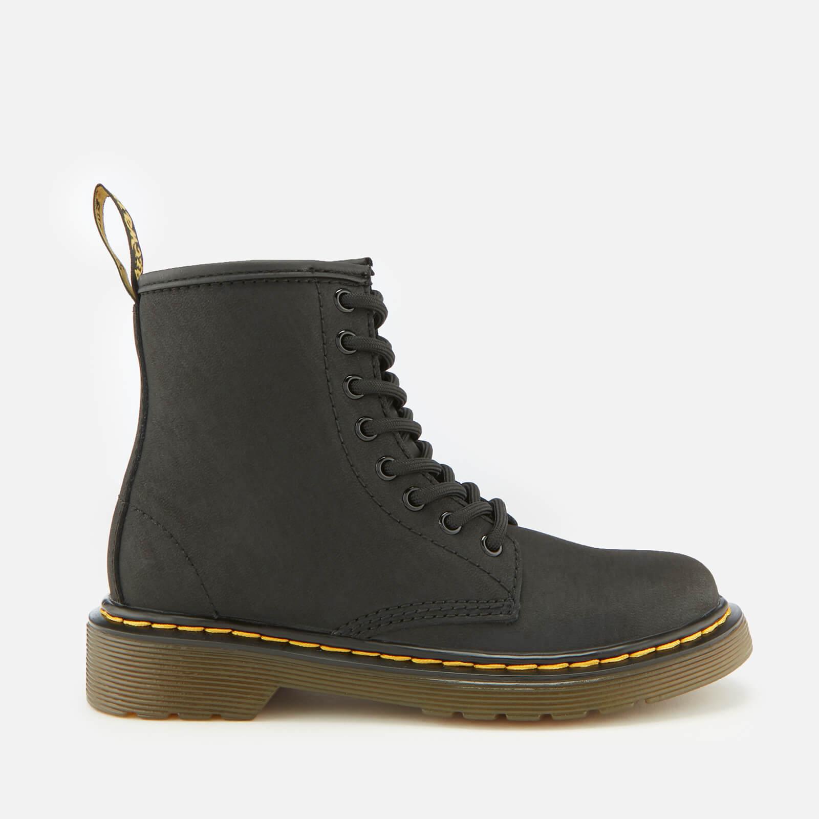 d934d87e674 Dr. Martens Kid's 1460 Serena Warm Lining Lace-Up Boots - Black Junior  Clothing   TheHut.com