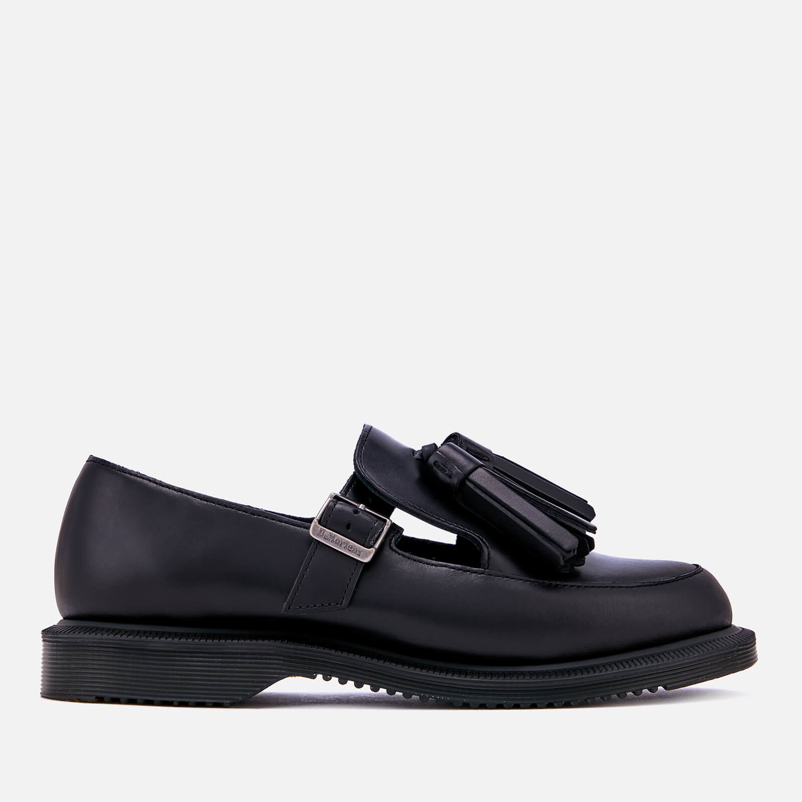 69200ccc01ee Dr. Martens Women s Gracia Brando Leather Tassel Flats - Black ...