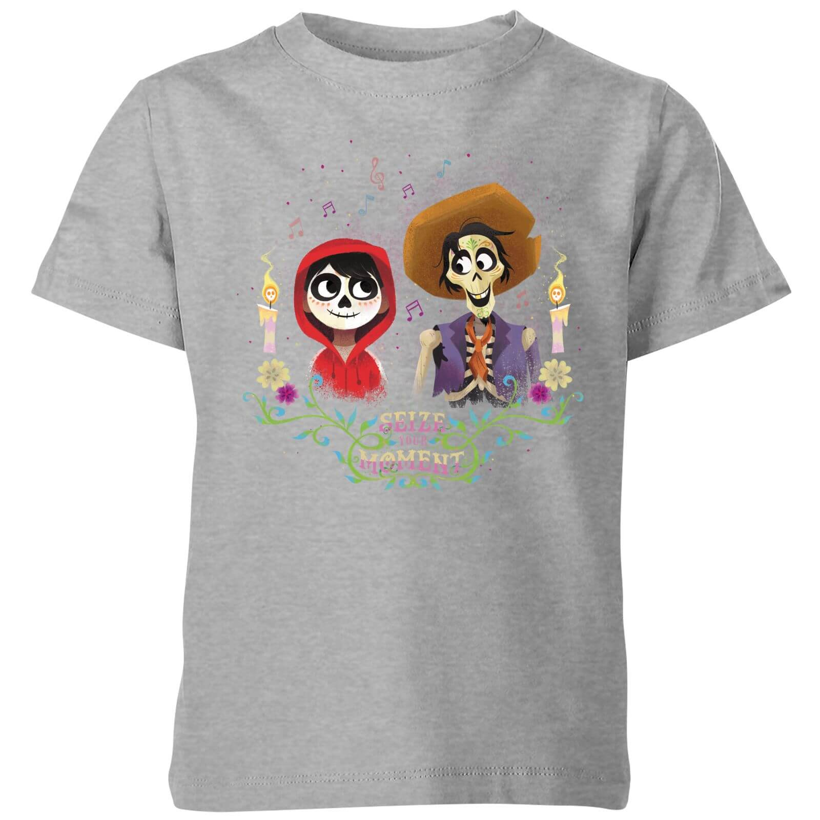 c31d99bdfb6f Coco Miguel And Hector Kids  T-Shirt - Grey Clothing