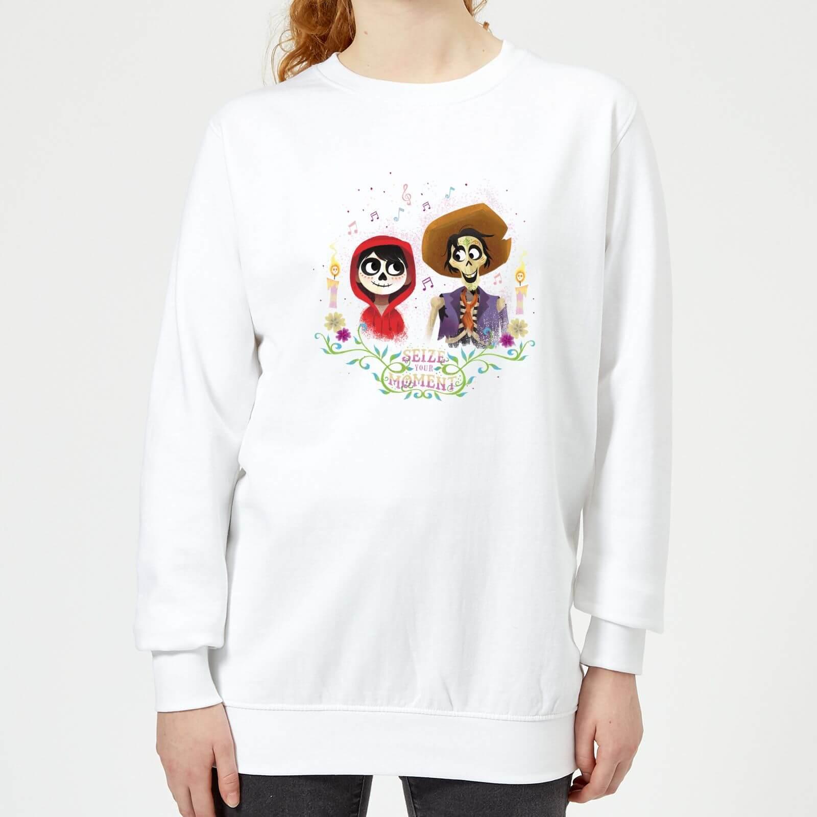 comprar online b2fe2 85e41 Sudadera Coco Disney Miguel y Héctor - Mujer - Blanco