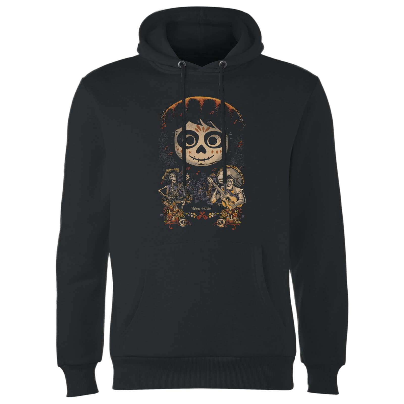 Coco Miguel Face Poster Hoodie - Black