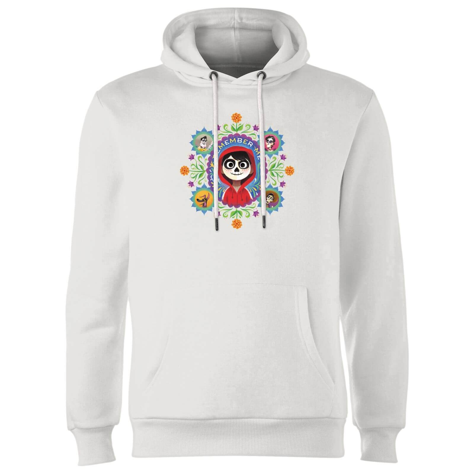 Coco Remember Me Hoodie - White