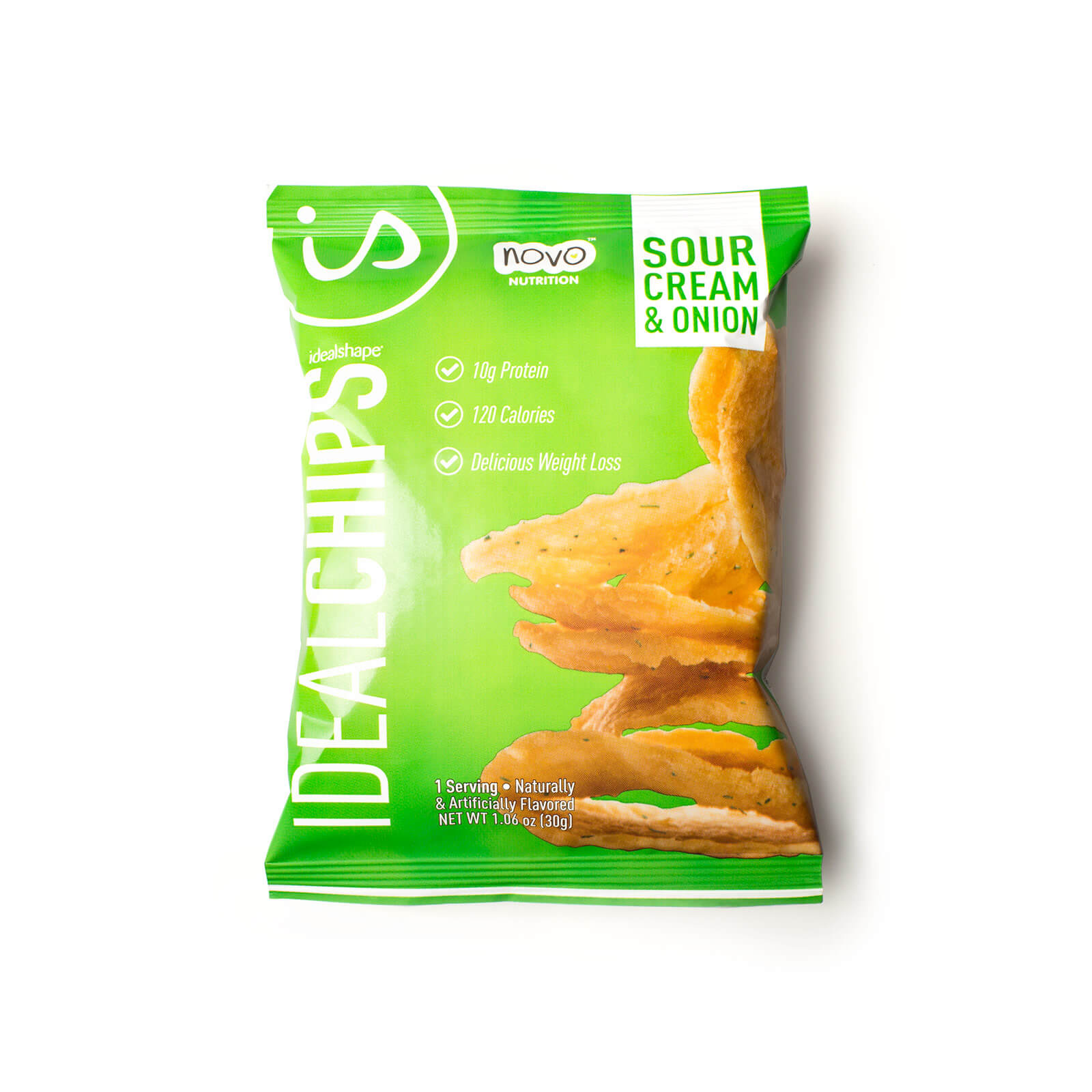 IdealChips Sour Cream and Onion 2 Boxes