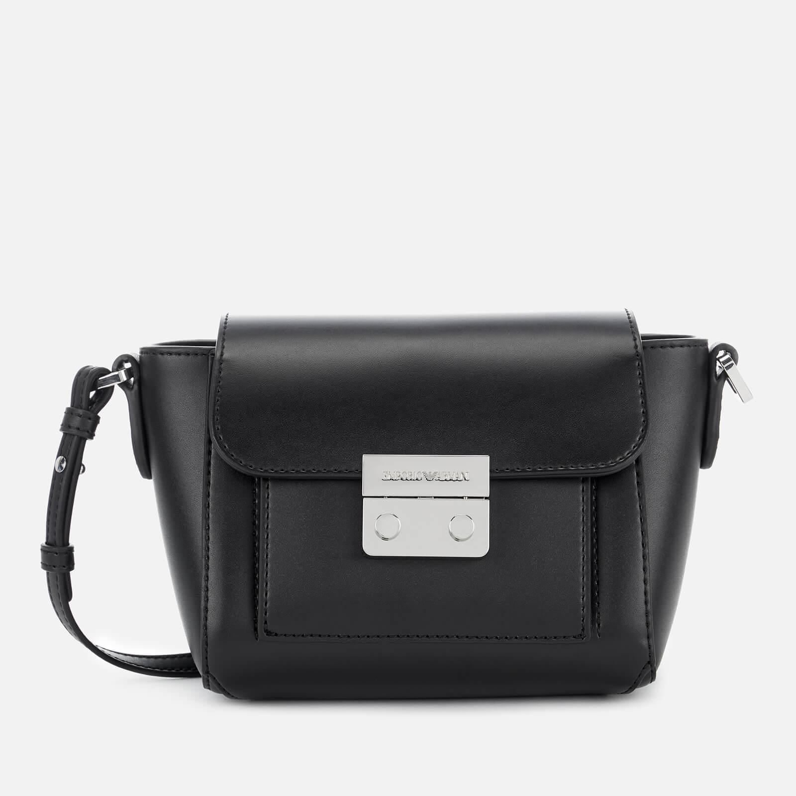 09f9d72a4e Emporio Armani Women's Small Cross Body Bag - Black