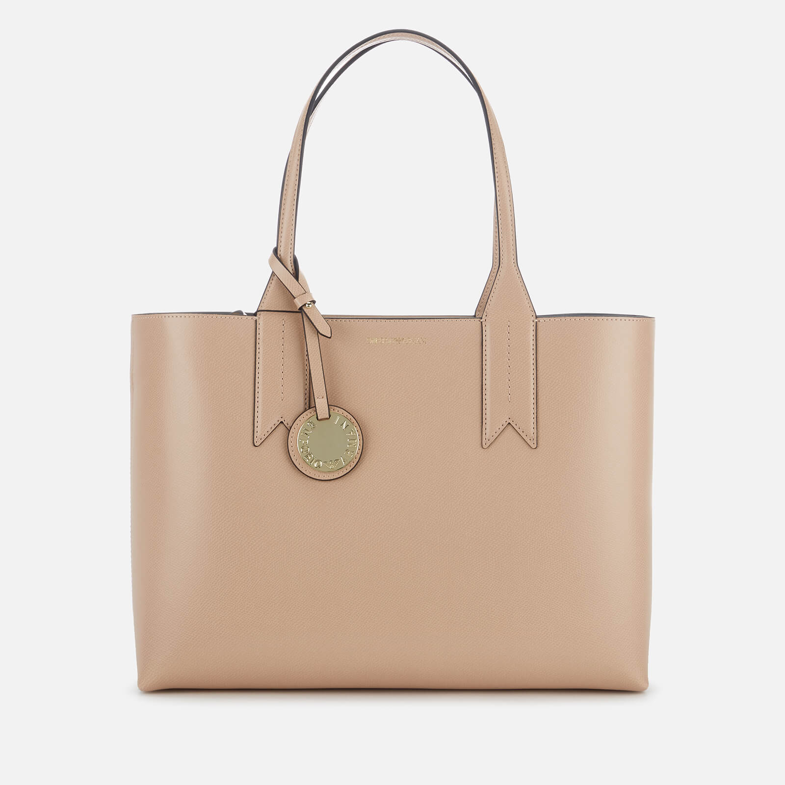 377ce8c3100f Emporio Armani Women s East West Tote Bag - Nude - Free UK Delivery over £50