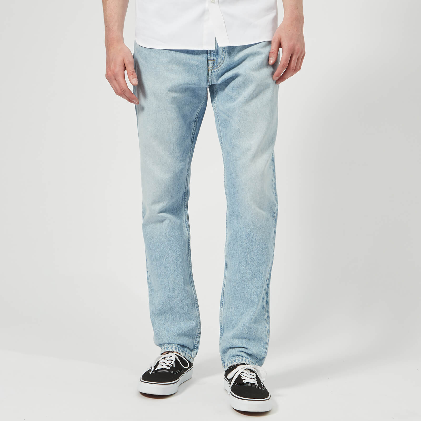 47301a1a Calvin Klein Jeans Men's CKJ 056: Athletic Tapered West Jeans - Pescadero  Blue - Free UK Delivery over £50