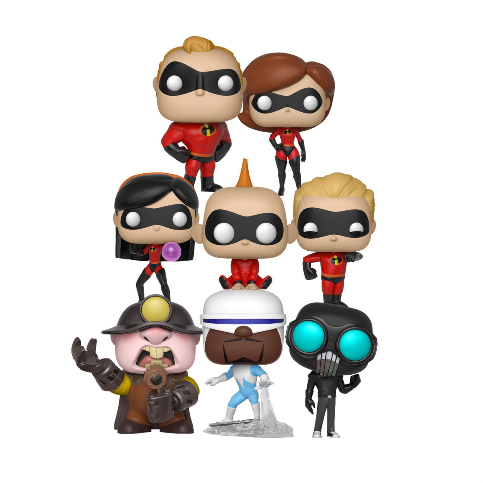 Collection Funko Pop! Les Indéstructibles 2