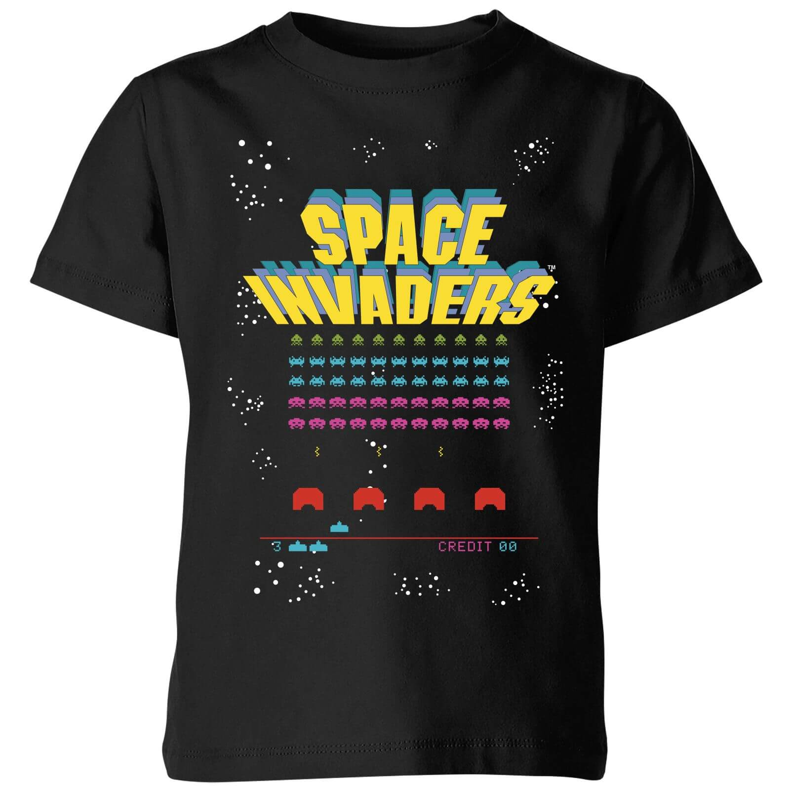 Space Invaders Game Screen Kids