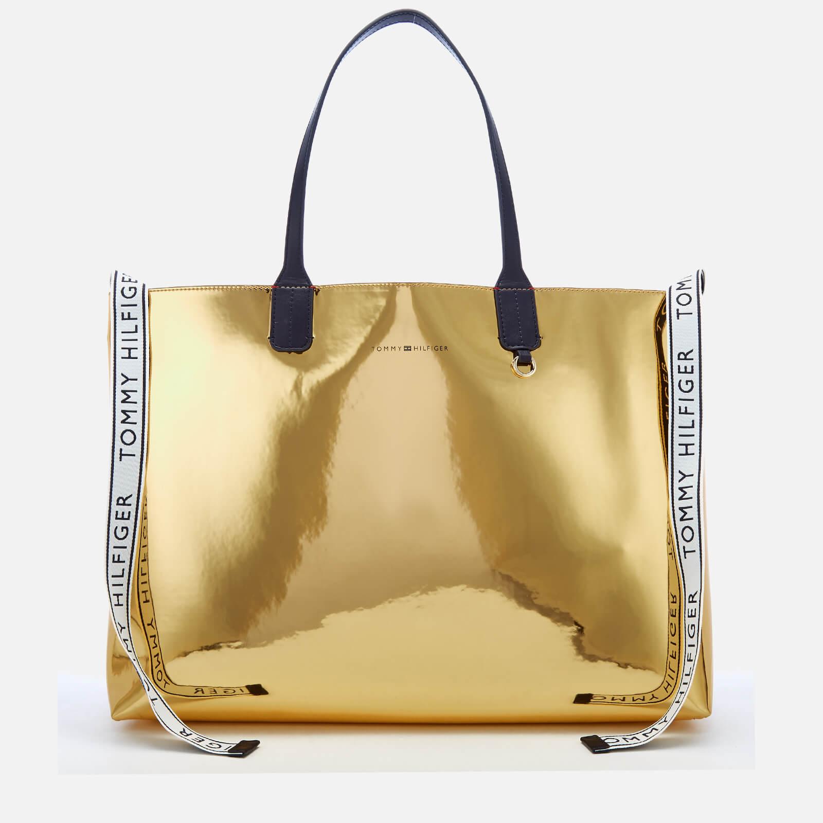 adadd6b0 Tommy Hilfiger Women's Iconic Tommy Tote Bag - Metallic Womens Accessories  | TheHut.com