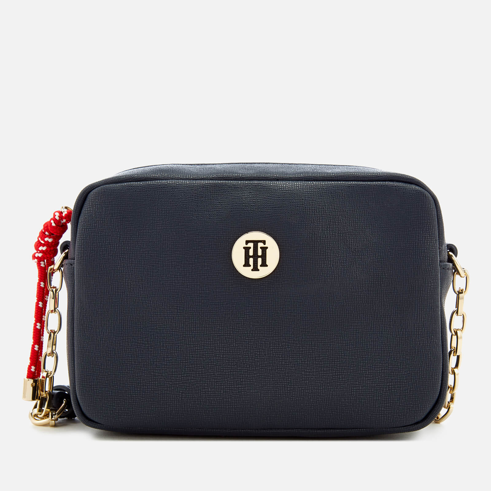 2ae8a7785 Tommy Hilfiger Women s Buckle Cross Body Bag - Navy Womens Accessories
