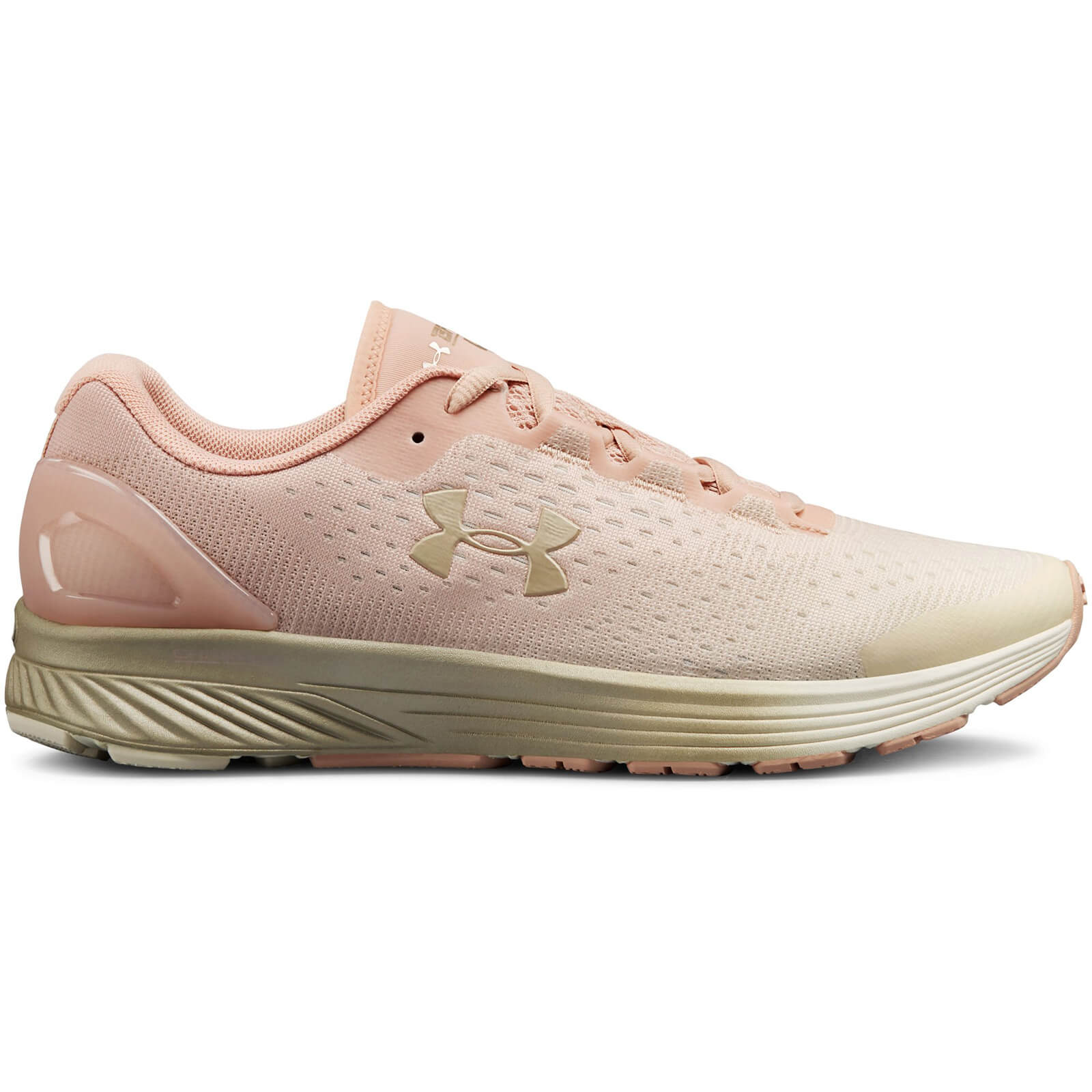 Under Armour Women s Charged Bandit 4 Running Shoes - Pink ... d43ca75c3