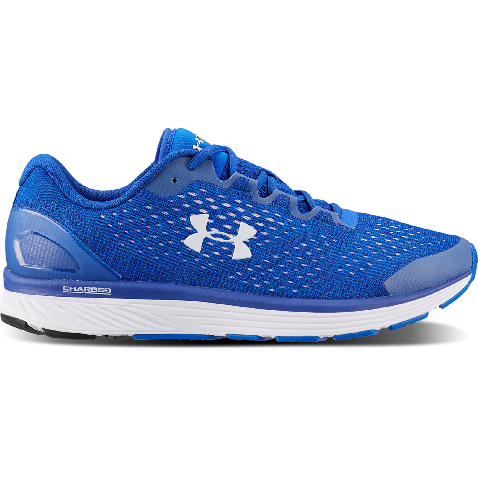 e08e01a0508 Under Armour Men s Charged Bandit 4 Team Running Shoes - Blue ...