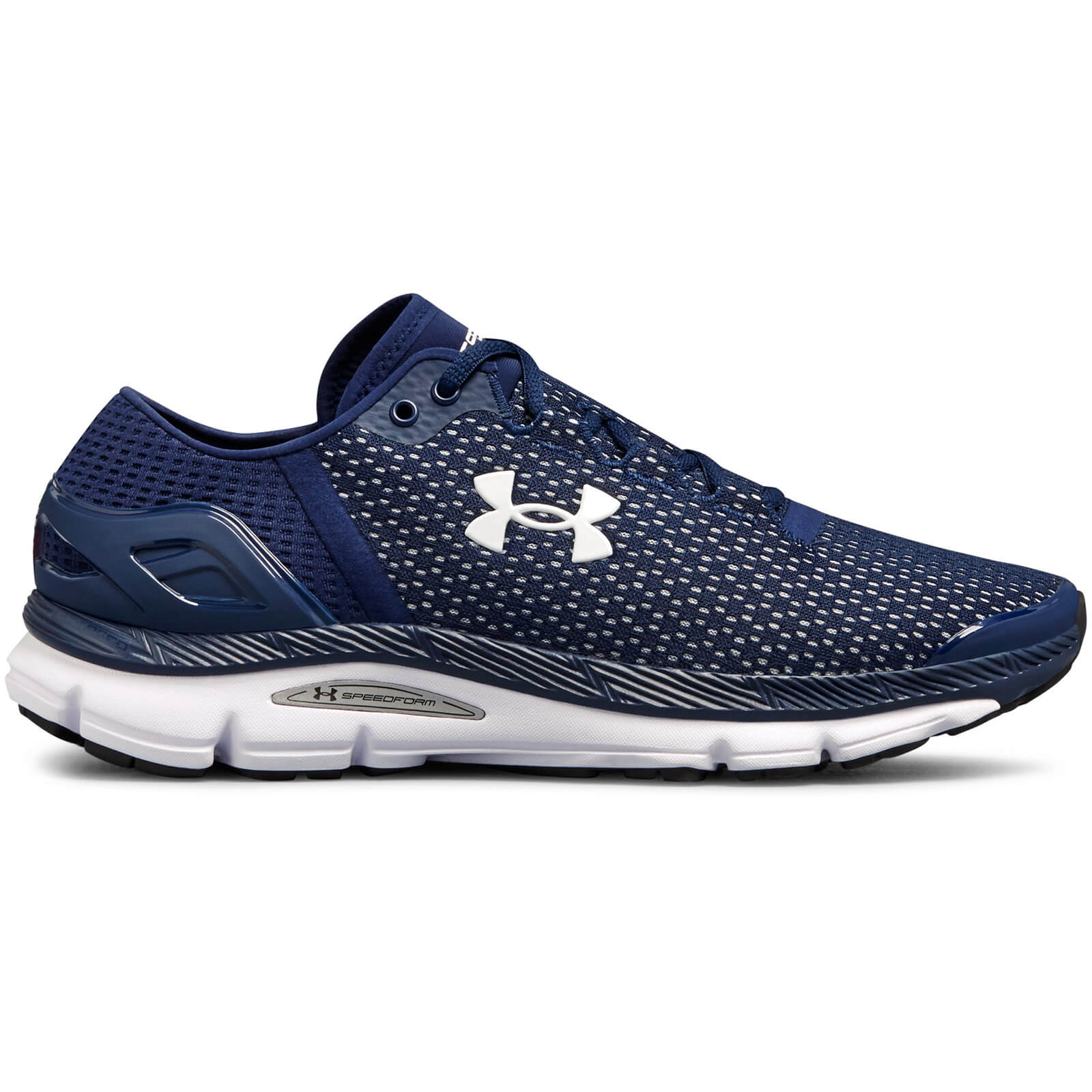 under armour shoes blue and white
