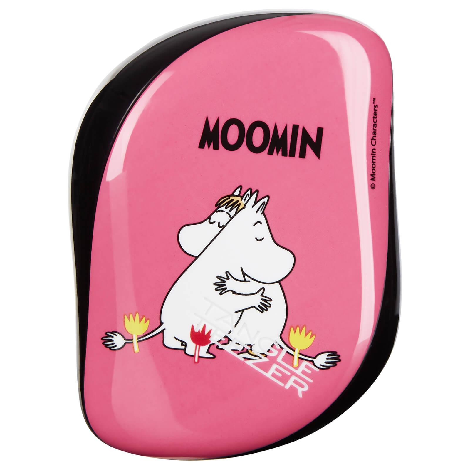 Znalezione obrazy dla zapytania Tangle Teezer Compact Hair Styler - Moomin Pink