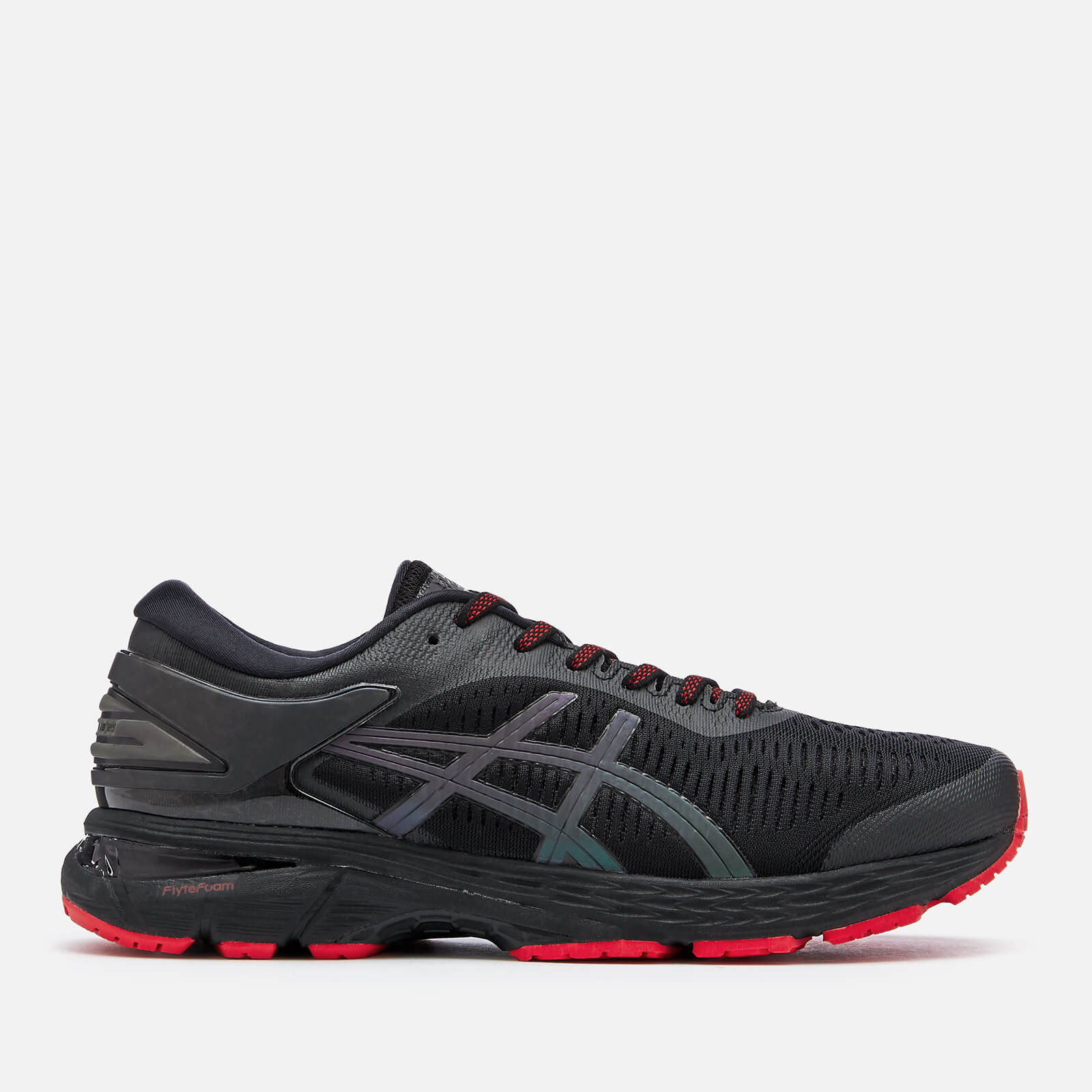 e819ac2b815 Asics Running Men s Gel-Kayano 25 Lite Show Trainers - Black - Free UK  Delivery over £50