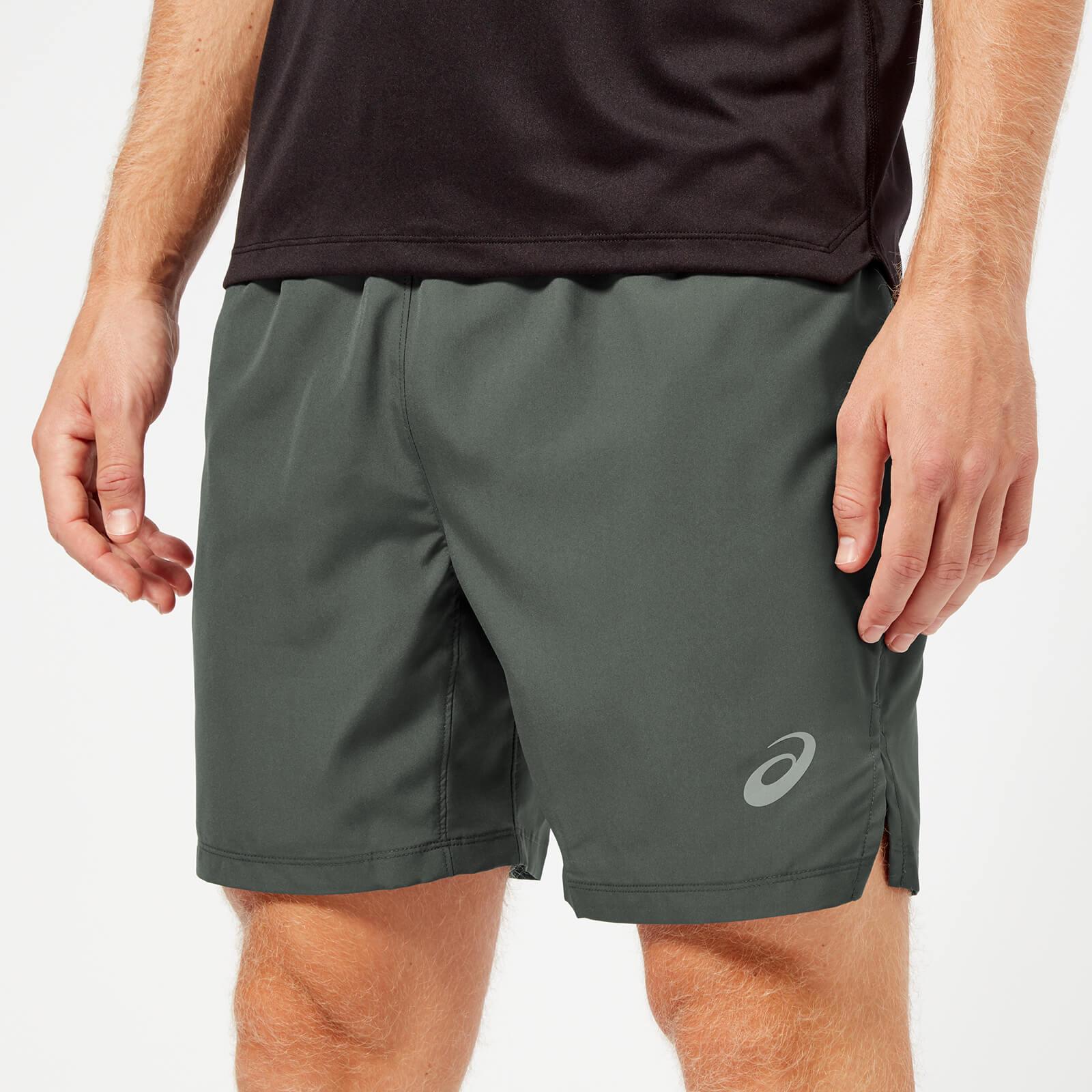 asics mens running shorts
