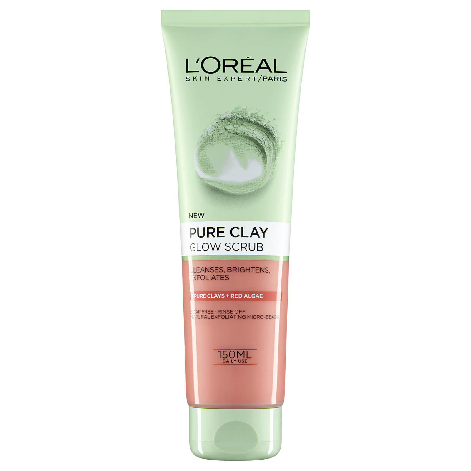 L'Oreal Paris Pure Clay Glow Foam Wash 150 ml