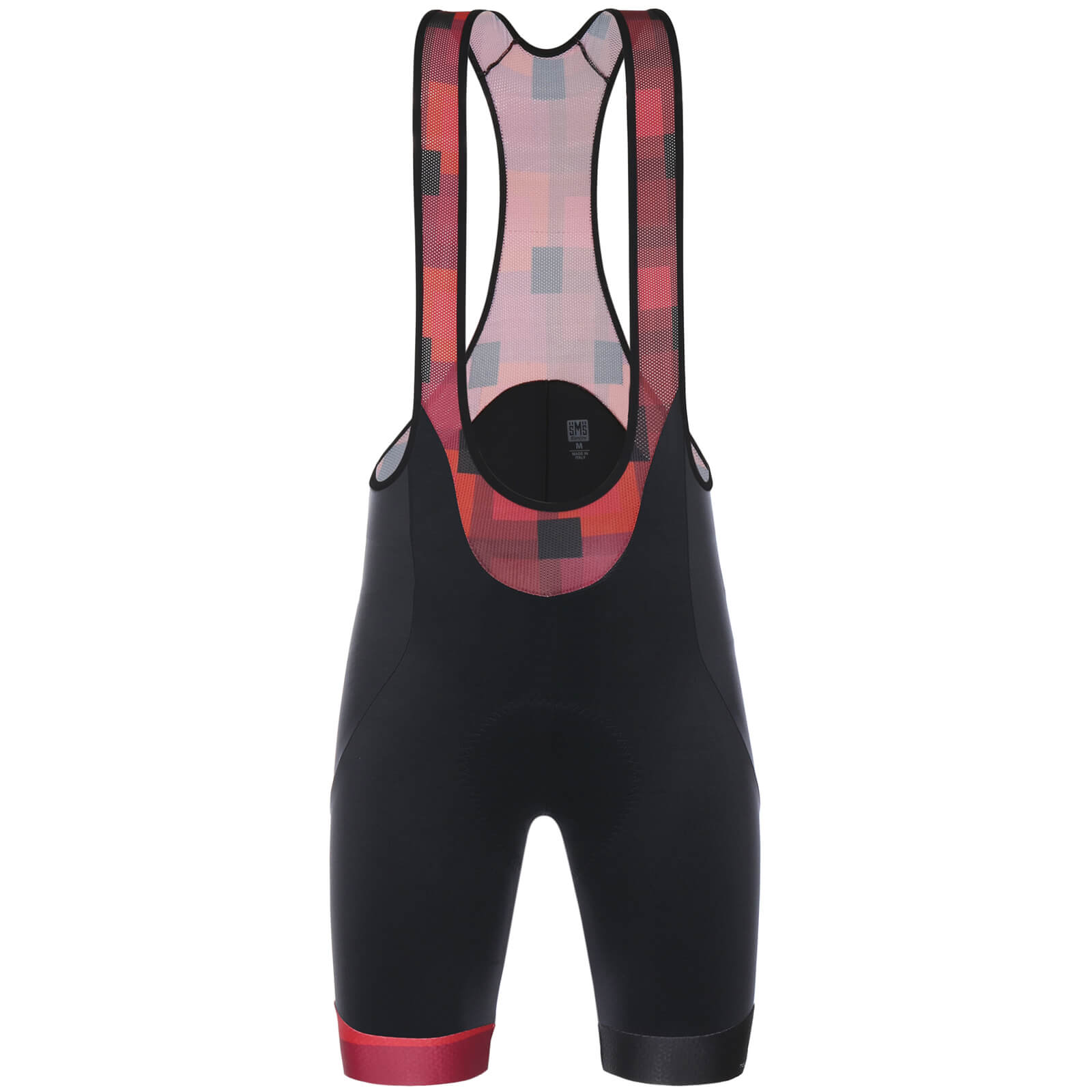 Santini Tour de Suisse 2018 Cross Bib Shorts - Black/Red
