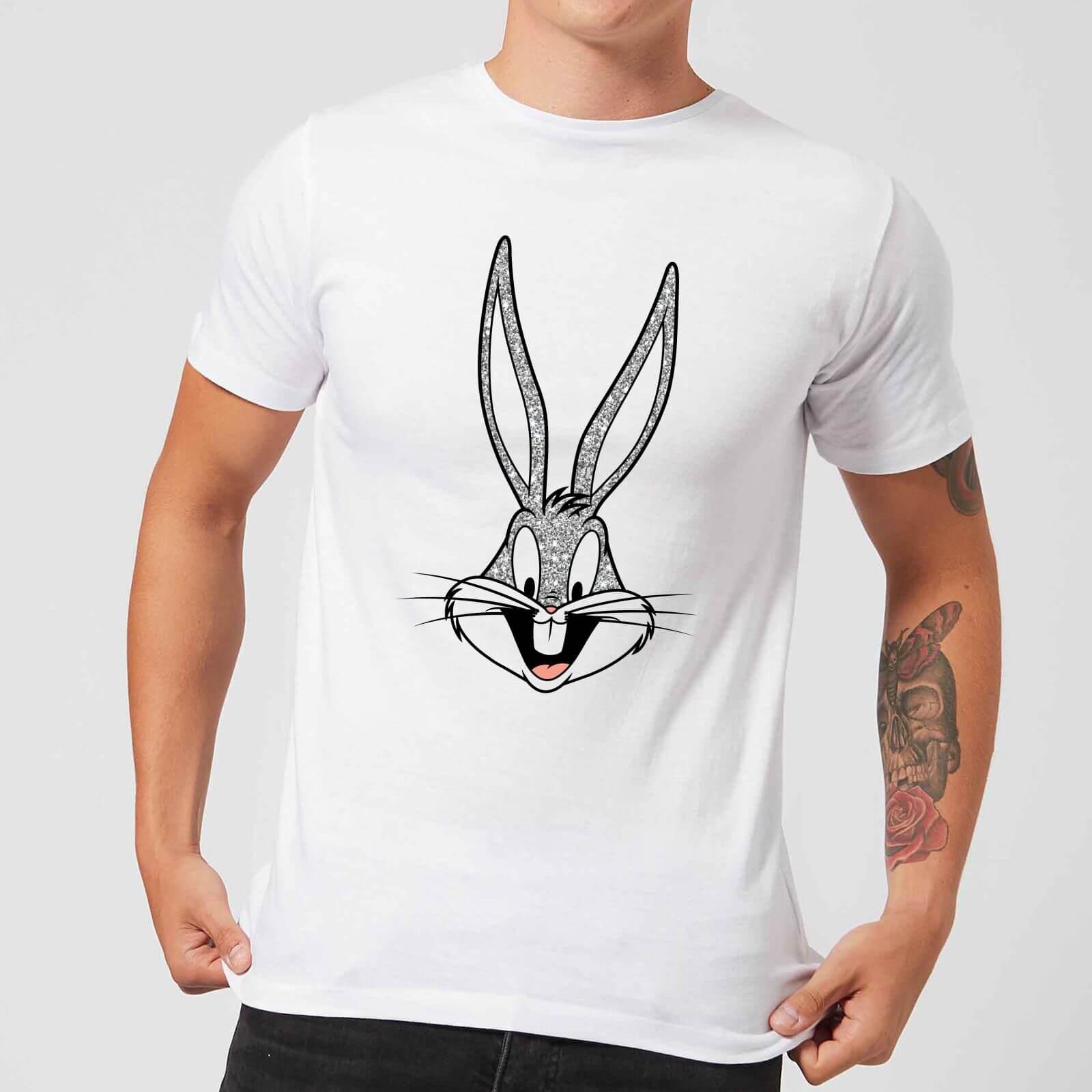afa82d297ff Looney Tunes Bugs Bunny Men's T-Shirt - White Clothing | Zavvi