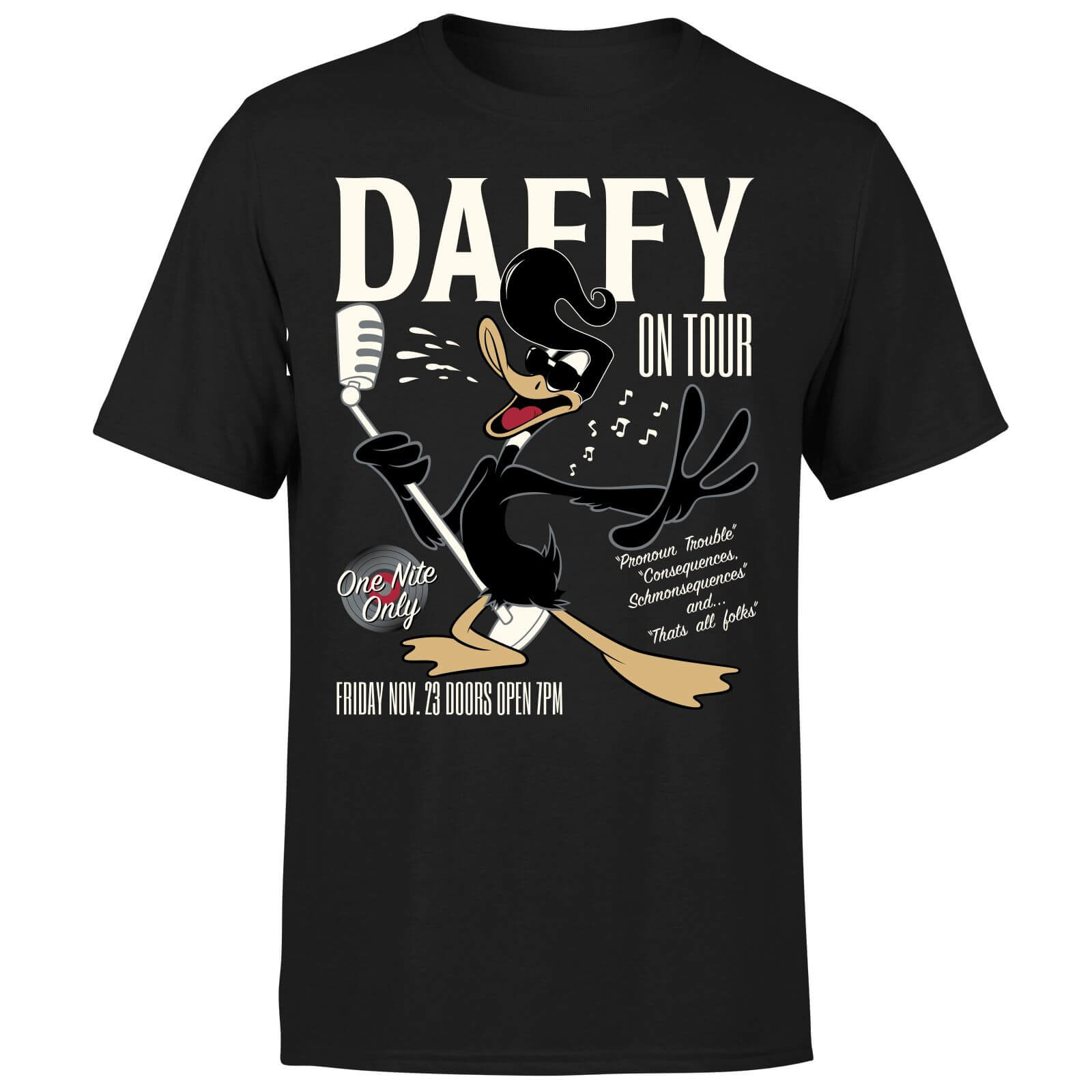 Looney Tunes Daffy Concert Men