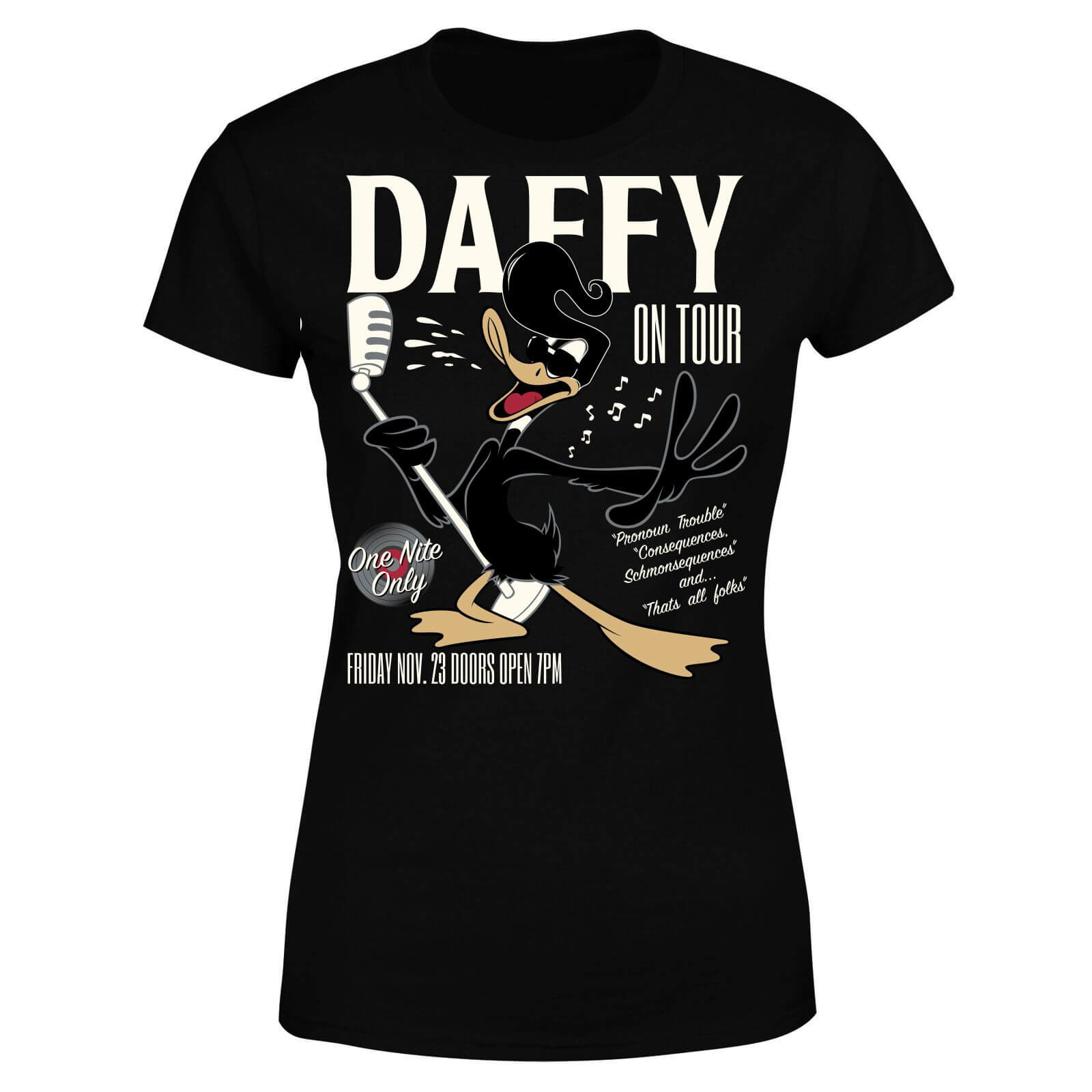 Looney Tunes Daffy Concert Women
