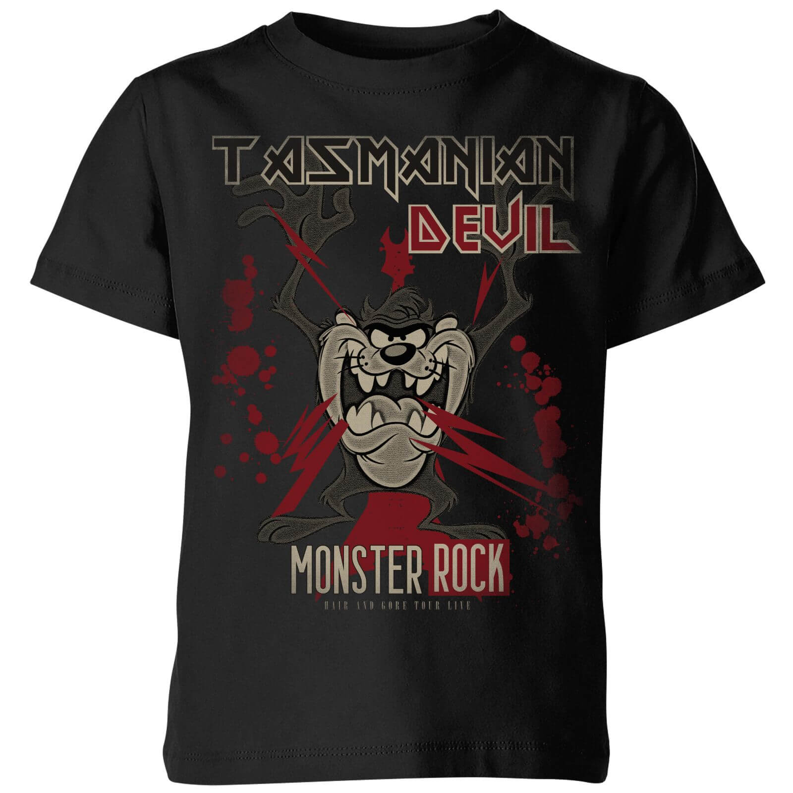 Looney Tunes Tasmanian Devil Monster Rock Kids