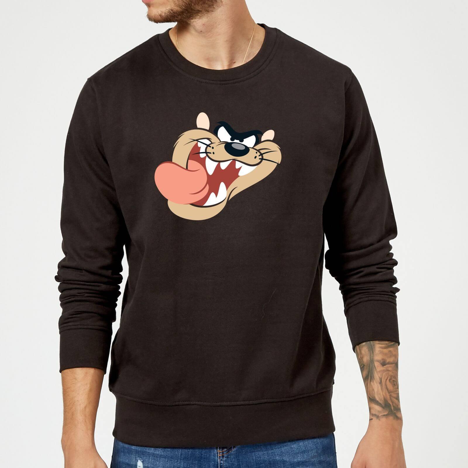 diseñador de moda 507ea a16e6 Sudadera Looney Tunes Demonio de Tasmania - Hombre - Negro