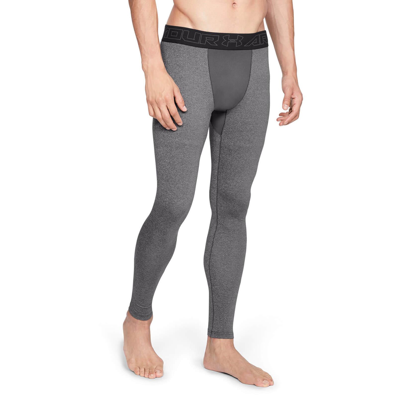 2c1dbdfa03674c Under Armour ColdGear Leggings - Grey | ProBikeKit Canada