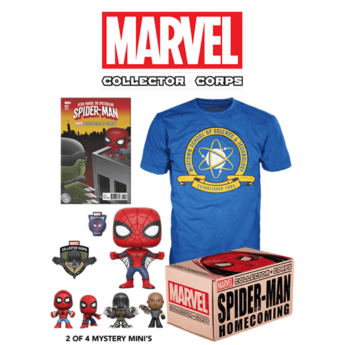 Marvel Collector S Corps Box Spider Man Homecoming