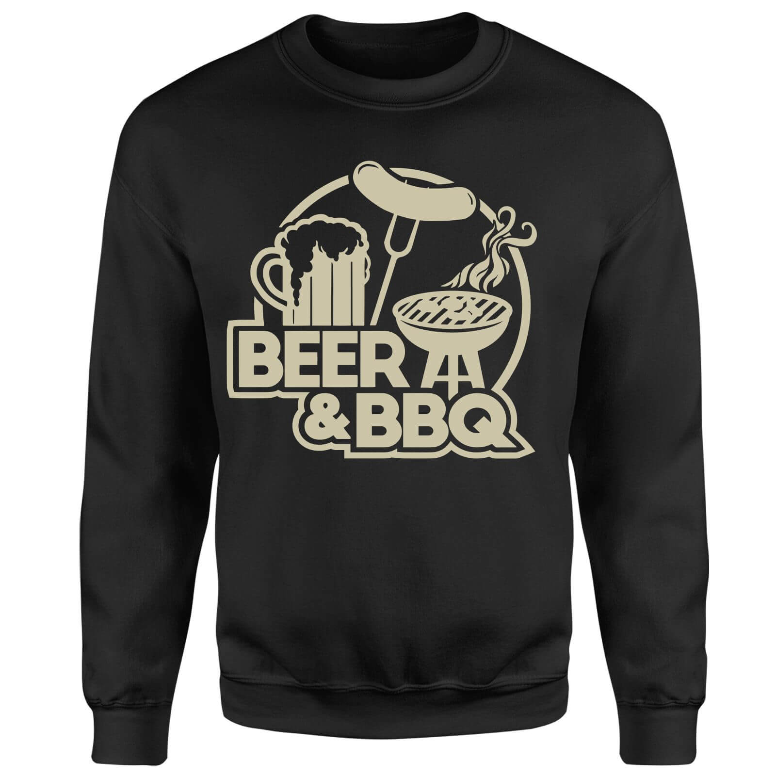 Beer & BBQ Sweatshirt - Black