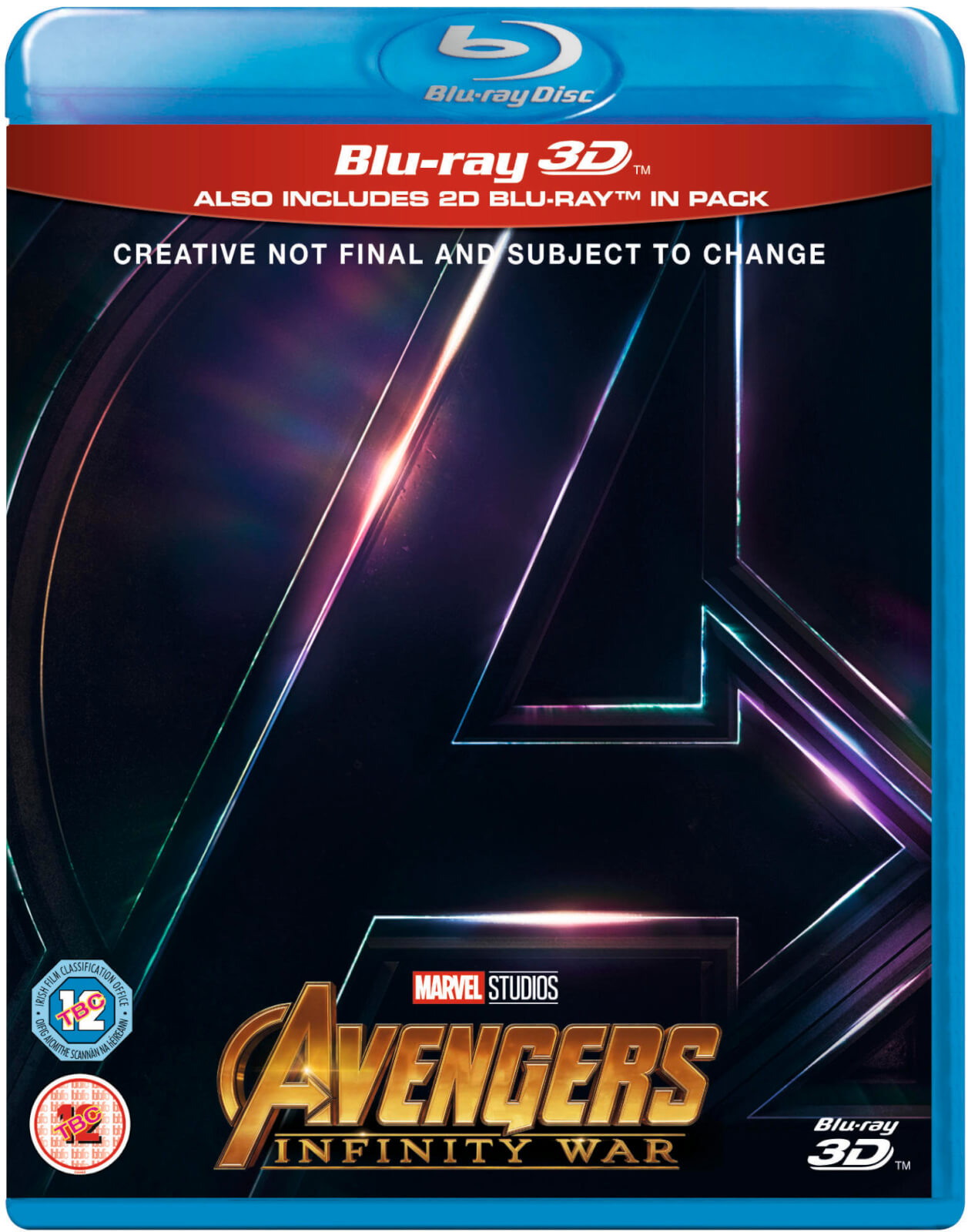 Avengers Infinity War 3d Includes 2d Version Blu Ray