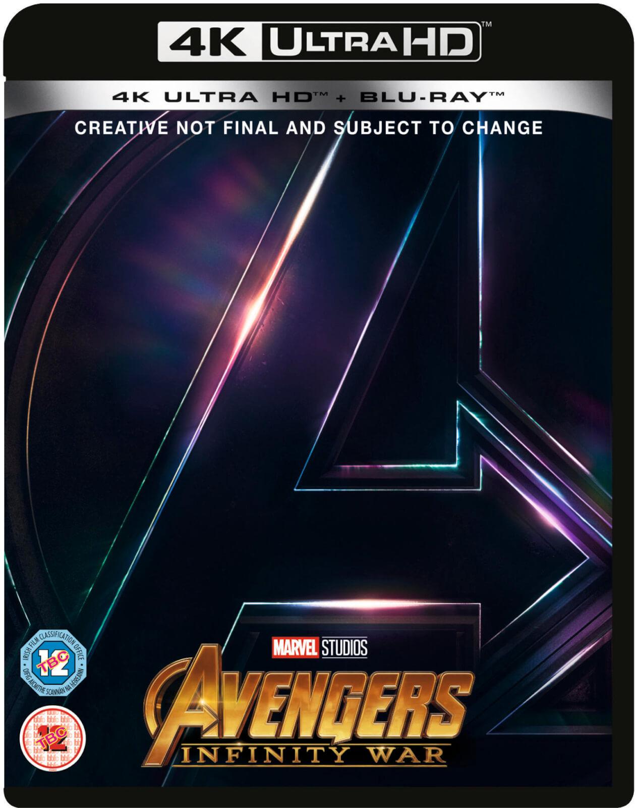 Avengers Infinity War 4k Ultra Hd Blu Ray Zavvi