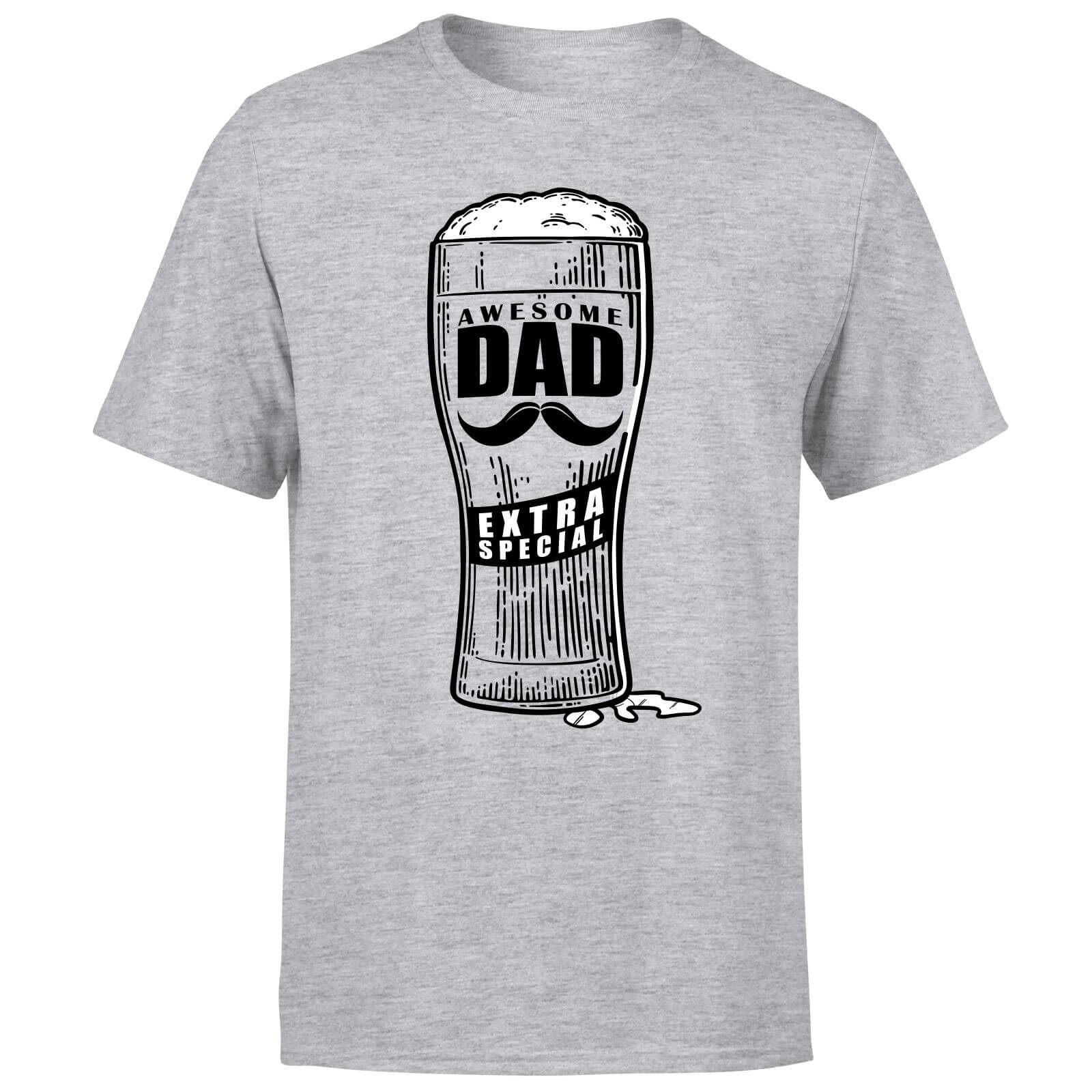 Awesome Dad Beer Glass Men