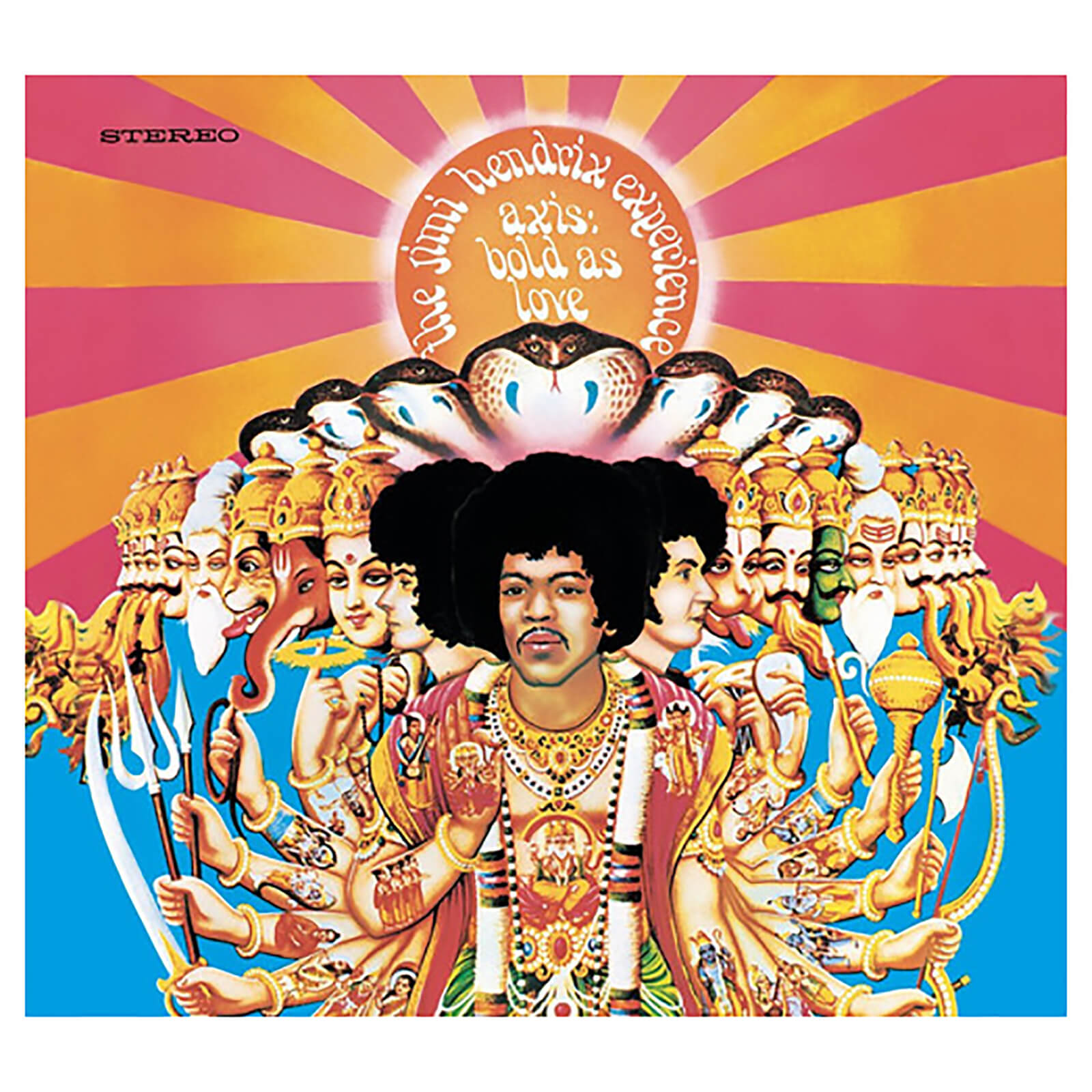 Jimi Hendrix - Axis: Bold As Love - Vinyl