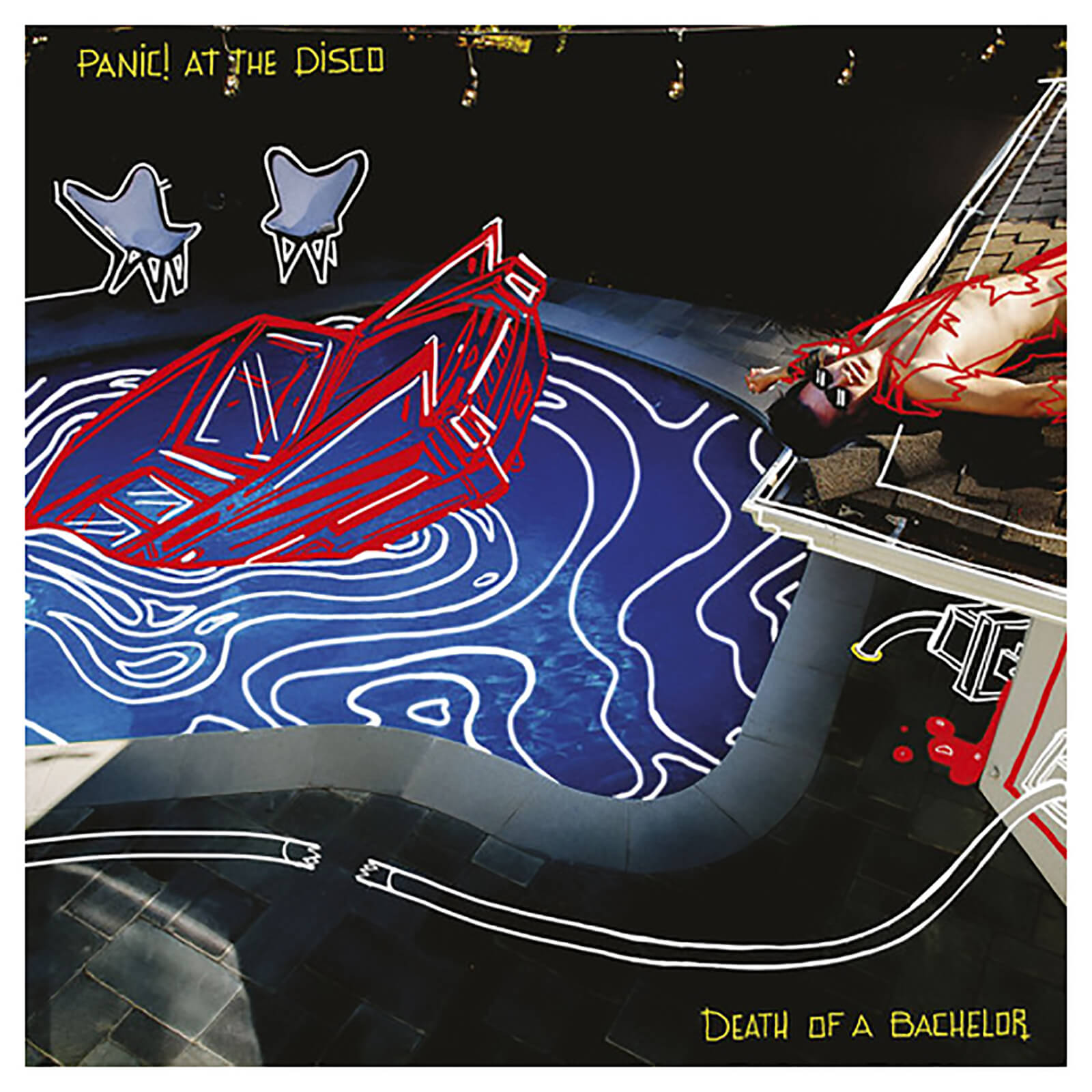 9f366ca1 Panic At The Disco - Death Of A Bachelor - Vinyl Merchandise | Zavvi US