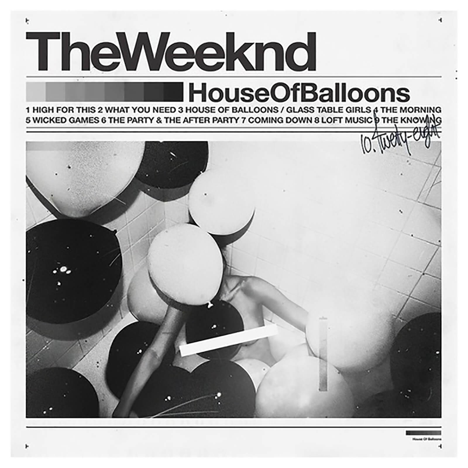 Weeknd - House Of Balloons - Vinyl