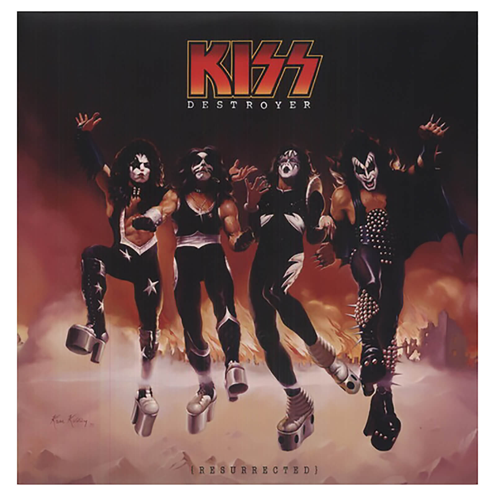 Kiss - Destroyer: Resurrected - Vinyl