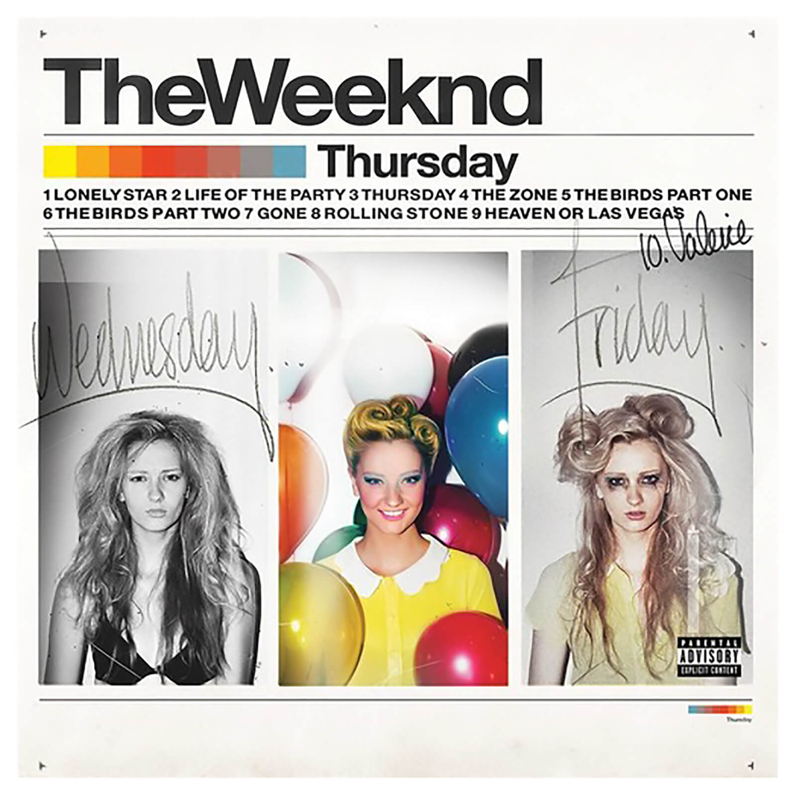 Weeknd - Thursday - Vinyl