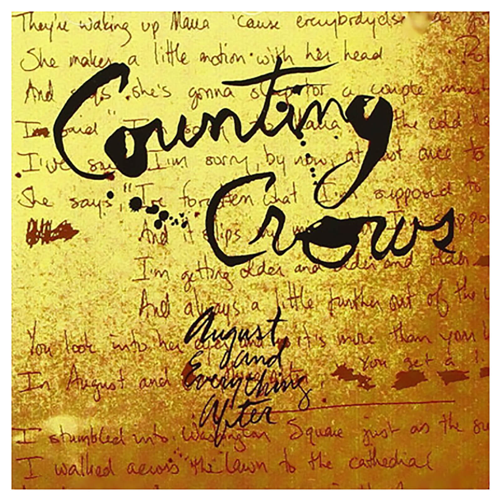 Counting Crows - August & Everything After - Vinyl