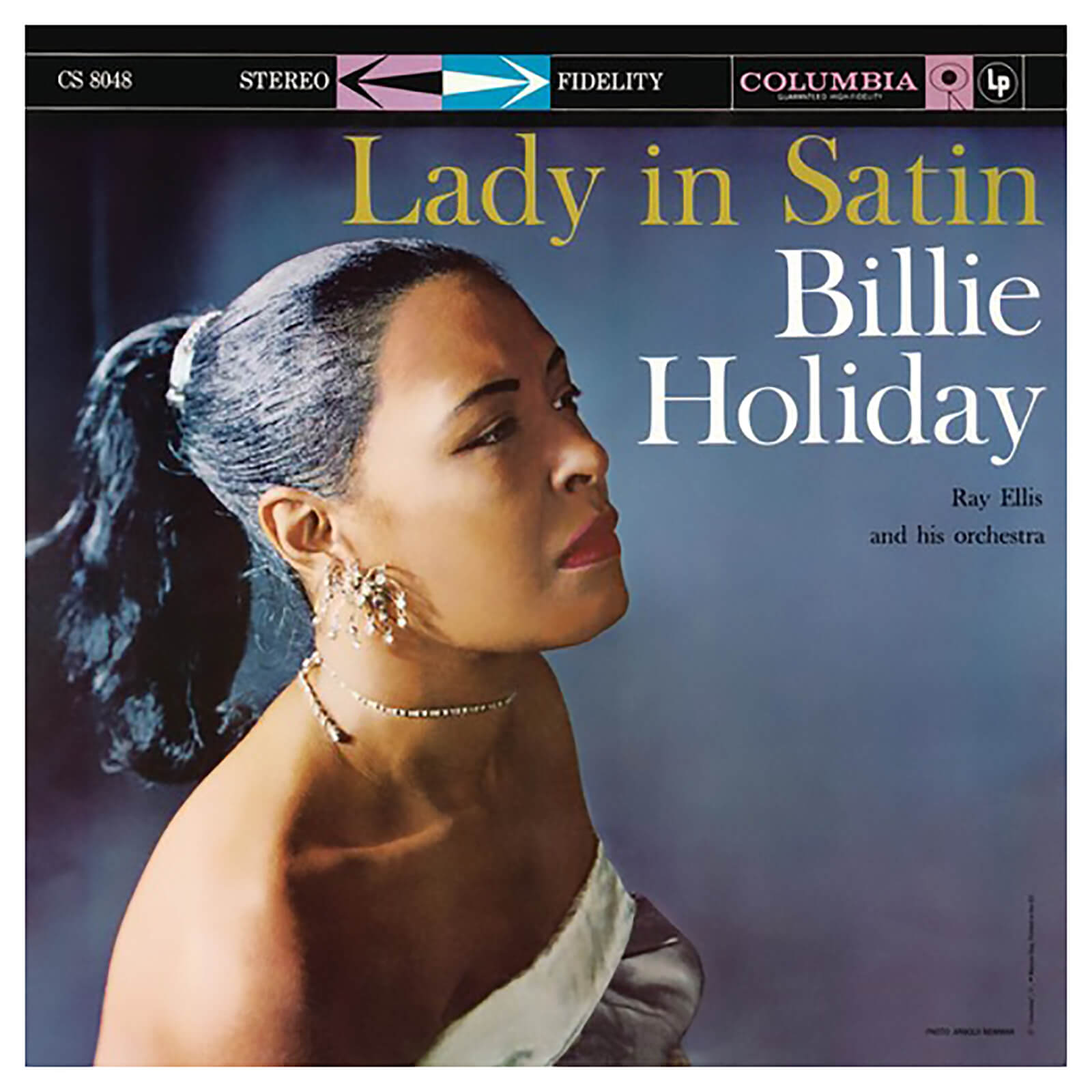 Billie Holiday - Lady In Satin - Vinyl
